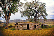 Marty Koch  Metal Prints - Parker Homestead Metal Print by Marty Koch