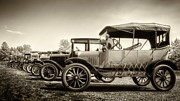 Ford Model T Framed Prints - Parking Framed Print by Margie Hurwich