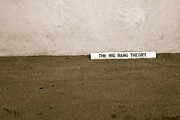 The Big Bang Prints - Parking Spot at WB Studios Print by Katja Muller