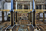 Nyc Graffiti Prints - Parking unReality Print by Joanna Madloch