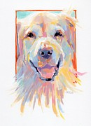 Ruff Painting Framed Prints - Parson Framed Print by Kimberly Santini