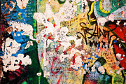 Berlin Art Photos - Part of Berlin Wall with graffiti by Michal Bednarek