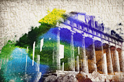 Parthenon Print by Aged Pixel