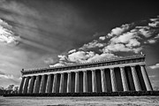 Nashville Tennessee Prints - Parthenon Print by CJ Schmit