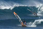Extreme Sports Framed Prints - Partners In The Extreme Framed Print by Bob Christopher
