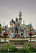 Disneyland Park Photos - Partners by Ricky Barnard