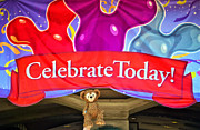 Disney Bear Photos - Party Bear by Thomas Woolworth