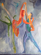 Peach Originals - Pas de Deux by Sandy McIntire