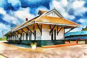 Barry Jones - Pascagoula Train Depot
