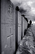 Ypres Framed Prints - Paschendale War Graves Framed Print by Colin Woods