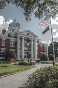 Pasco County Prints - Pasco Co. Courthouse Print by Howard Markel