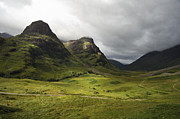 Great Britain Art - Pass of Glencoe - D002455 by Daniel Dempster