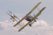 Biplane Art - Passage of Arms by Pat Speirs