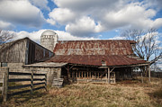 Haunted Barn Photos - Passed By by Terry Rowe