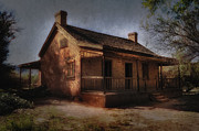 Haunted House Photo Prints - Passing The Time Print by Sandra Bronstein