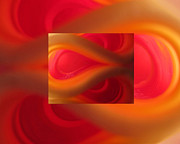 Empowering Framed Prints - Passion Abstract 02 Framed Print by Ausra Paulauskaite