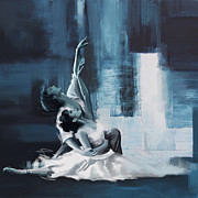 Dancer Paintings - Passion  by Corporate Art Task Force