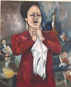 Concert Painting Originals - Passion  by Farid  Fakhriddin