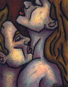 Nude Couple Pastels - Passion by Kamil Swiatek