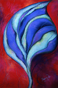 Leaf Pastels Originals - Passion by Susan Will