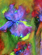 Abstract Expressionism Mixed Media - Passionate Garden - Abstract by Zeana Romanovna