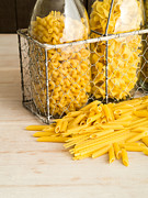 Pasta Photos - Pasta Shapes Still Life by Edward Fielding