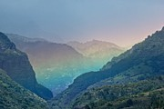 Bonita Hensley - Pastel Canyon Rainbow