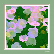 Flower Photographers Posters - Pastel Flowers II Poster by Tom Prendergast