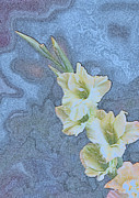 Linda Phelps - Pastel Gladiolus Creation