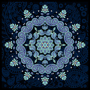 Deborah Smith - Pastel Paisley Mandala