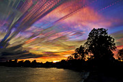 Trippy Framed Prints - Pastel Pallet Framed Print by Matt Molloy