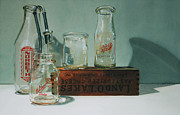 Antiques Paintings - Pasteurized by Denny Bond