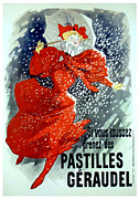Passenger Mixed Media Prints - Pastilles Geraudel Print by Gary Perron