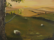 Stonewall Painting Originals - Pastural Vista by Rob Sherwood