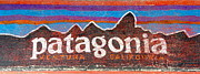 Blank Greeting Cards Prints - Patagonia Logo Print by M West