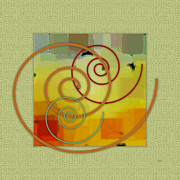 Swirl Originals - Patchwork I by Ben and Raisa Gertsberg