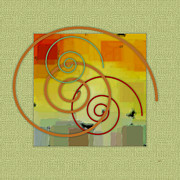 Swirl Originals - Patchwork II by Ben and Raisa Gertsberg