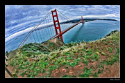 Blake Richards Framed Prints - Path To The Golden Gate Bridge Framed Print by Blake Richards