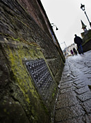 Church Of Scotland Posters - Path to the Greig St Bridge Poster by Macrae Images