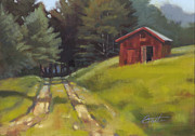 Shed Painting Prints - Path to the River Print by Todd Baxter