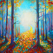 Prophetic Paintings - Pathway by Cindy Elsharouni