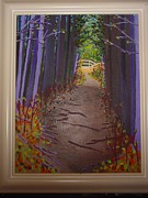 Pathway Paintings - Pathway by George Bernatt