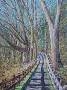 Pathway Paintings - Pathway by Sandra Lytch