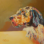 Gordon Setter Art Posters - Patience Poster by Kimberly Santini