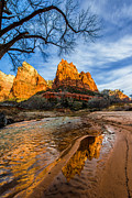 Patriarchs Of Zion Print by Chad Dutson