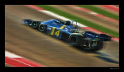 Blake Richards Framed Prints - Patrick Depailler Framed Print by Blake Richards