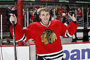Hockey Photos - Patrick Kane Poster by Sanely Great