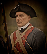 Re-enactor Prints - Patriot Print by Mark Miller