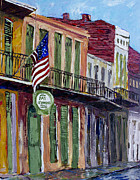 Pat O Briens Paintings - Patriot Pat by Vincent Thibodeaux