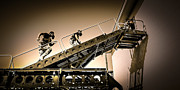 Law Enforcement Prints - Patriot3 Elevated Tactics System Print by David Morefield